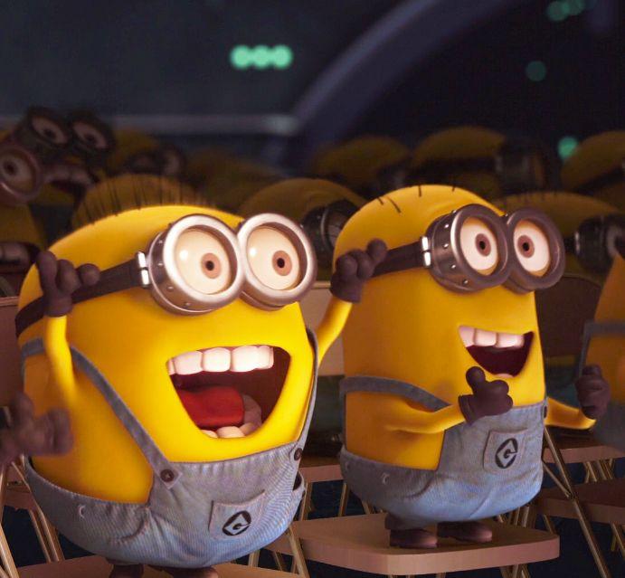 Despicable Me Minions Saying Papoy minions   Papoy! Minio...