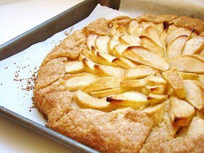 Apple-Frangipane Galette   Pie deliciousnessssss   Pinterest