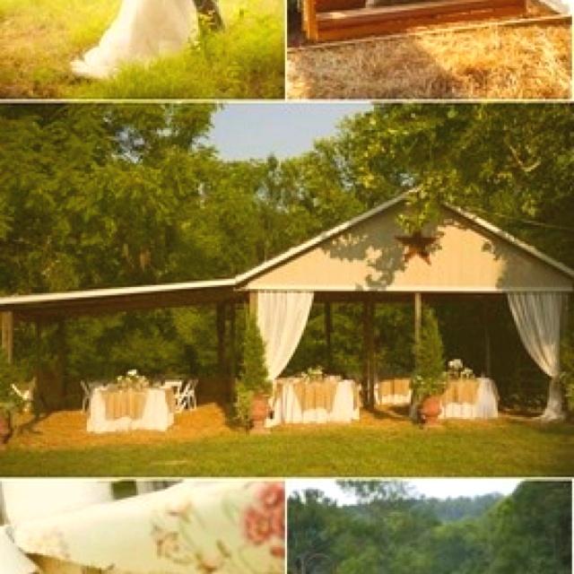 Perfect Backyard Wedding : Perfect backyard wedding setting  Wedding Ideas  Pinterest
