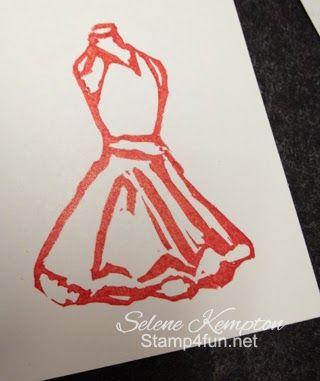 Dress carved by Selene Kempton