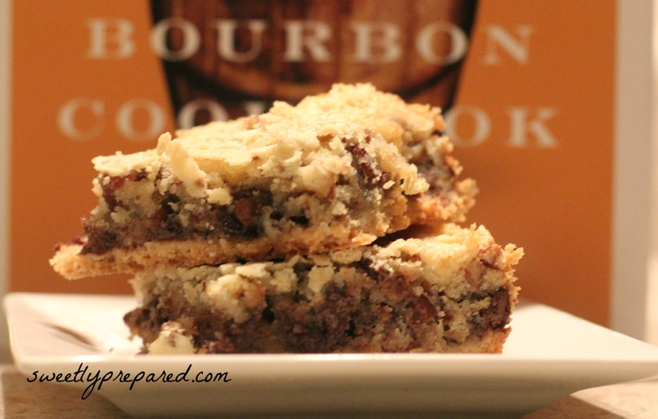 Kentucky Derby Pie Bars- this stuff is addictive!