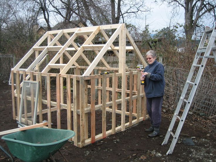 Pallet greenhouse pallets pinterest for Build a greenhouse from pallets