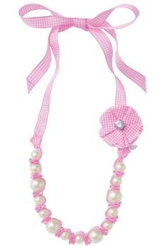 The Allie Pearl & Ribbon Necklace - Pair with the Allie Pearl Bracelet for pure perfection!!!