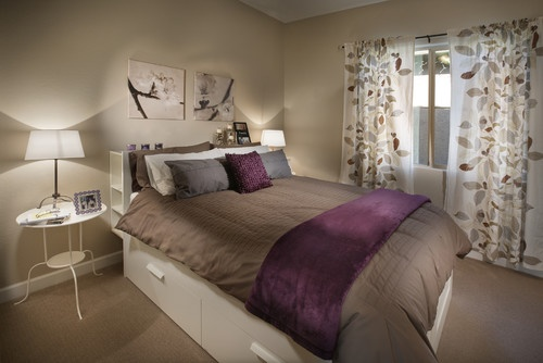 purple chocolate brown bedroom new house in austin tx pintere