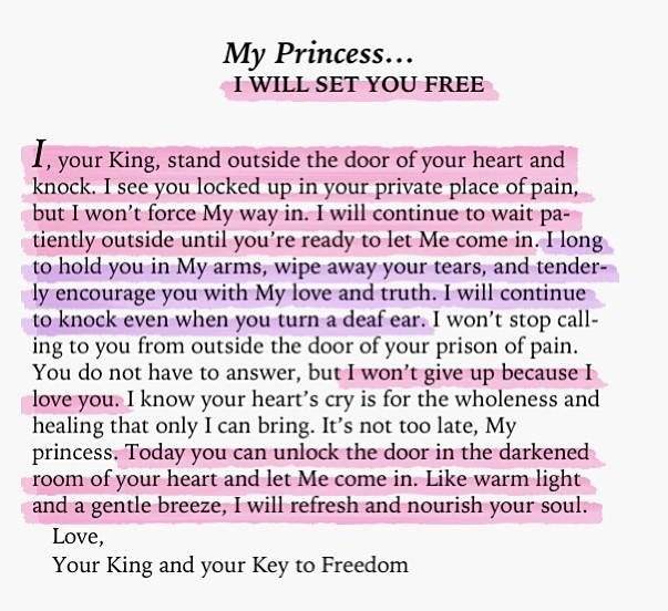 his princess love letters from your king pdf