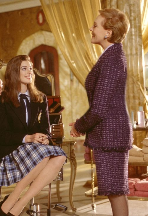 The Princess Diaries |... Julie Andrews And Anne Hathaway