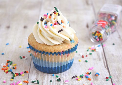 simple, perfect and cute cupcake