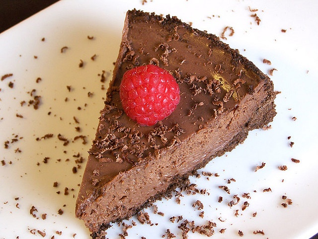 Triple-Chocolate Cheesecake by Back to the Cutting Board, via Flickr