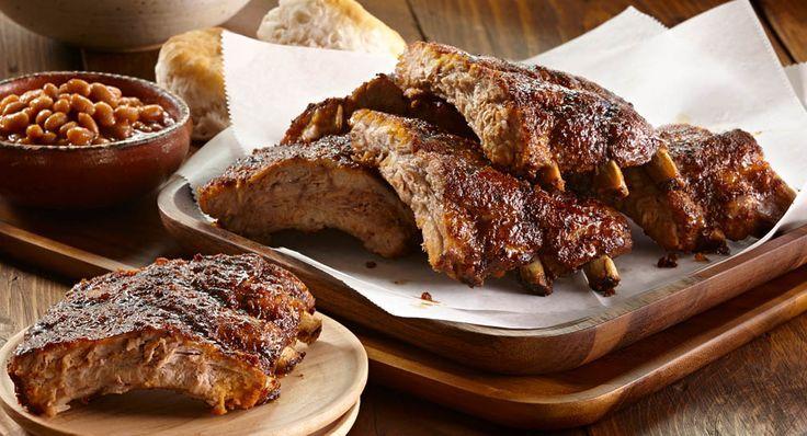 Memphis-Style Pork Ribs Recipes — Dishmaps