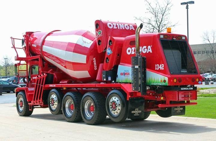 Natural Gas Mixer ~ Ozinga natural gas oshkosh mixer concrete mixers pinterest