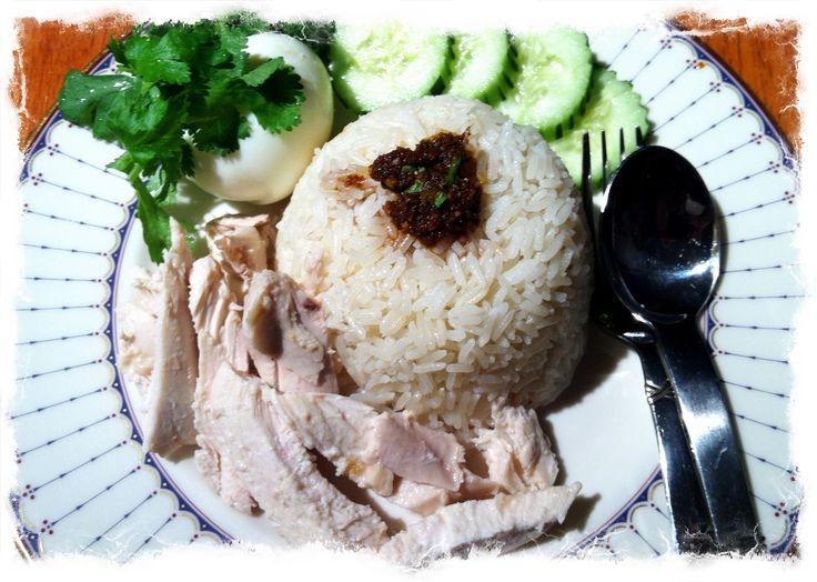 Pair with Lemon Ginger Green Tea: Singapore Hainanese Chicken Rice.