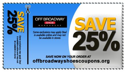 Off Broadway Shoes Coupons - $20 off $80 at Off Broadway Shoes, or