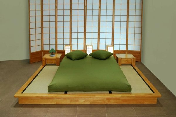 Japanese Modern Style Bedroom