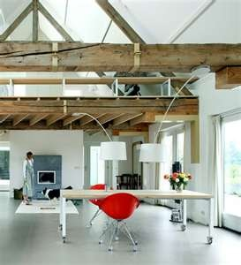 Pole barn home conversion barns pinterest for Converting a pole barn into a house
