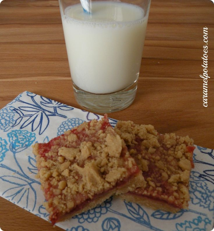 Peanut Butter and Jelly Crumb Bars | Peanut Butter and Jelly | Pinter ...