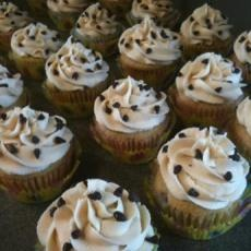 Chocolate Chip Cookie Dough Cupcakes   What a Girl Wants(But in No Wa ...
