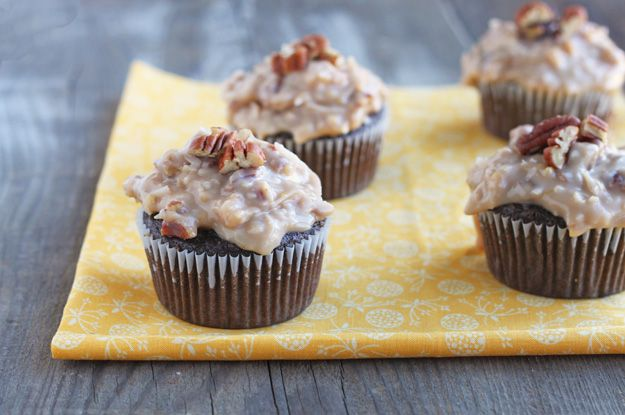 dessert for two: german chocolate cupcakes (great blog for making ...