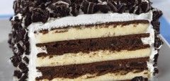 No Bake Oreo Ice Cream Cake