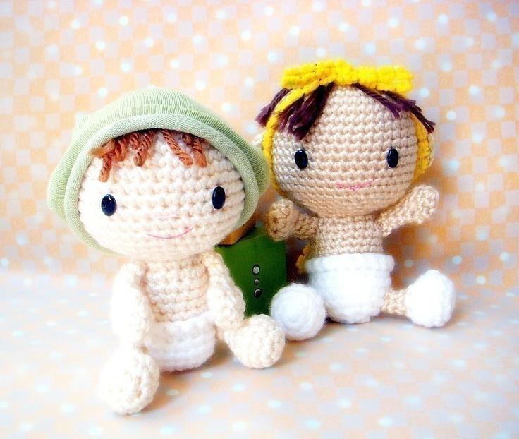 Amigurumi - Baby Baby - Crochet doll amigurumi pattern PDF