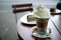 One of my favorite treats - frozen hot chocolate. Mmmmm...