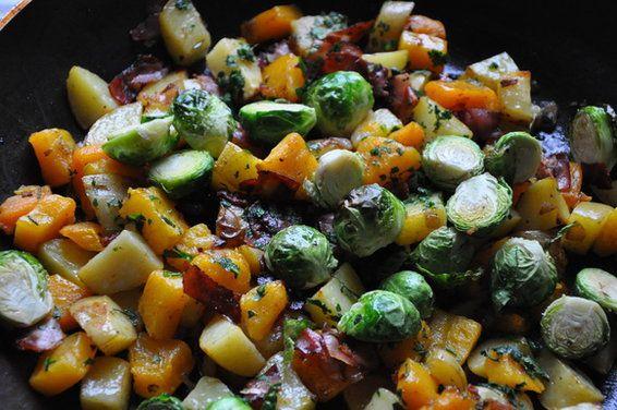Autumn Vegetable Hash | Recipe