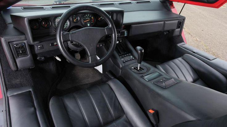 Lamborghini Countach Interior Lambo Pinterest