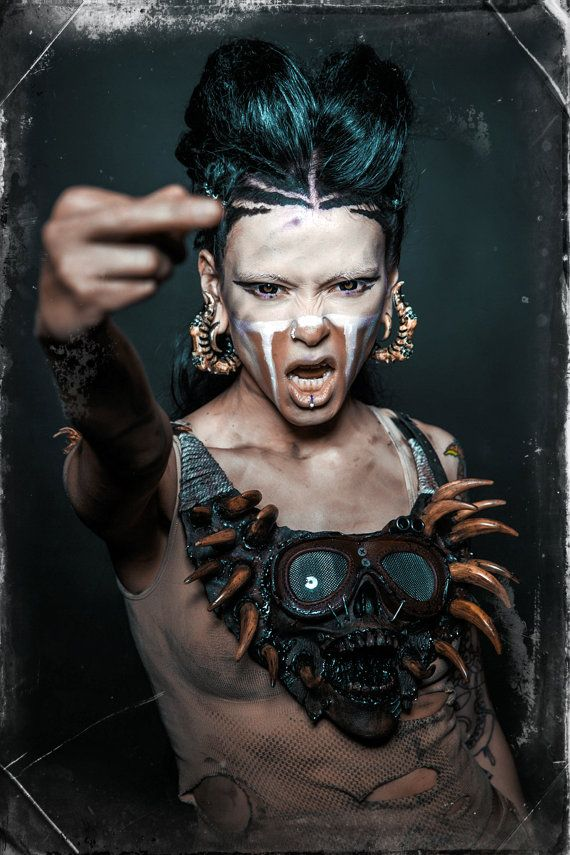 Post apocalyptic makeup