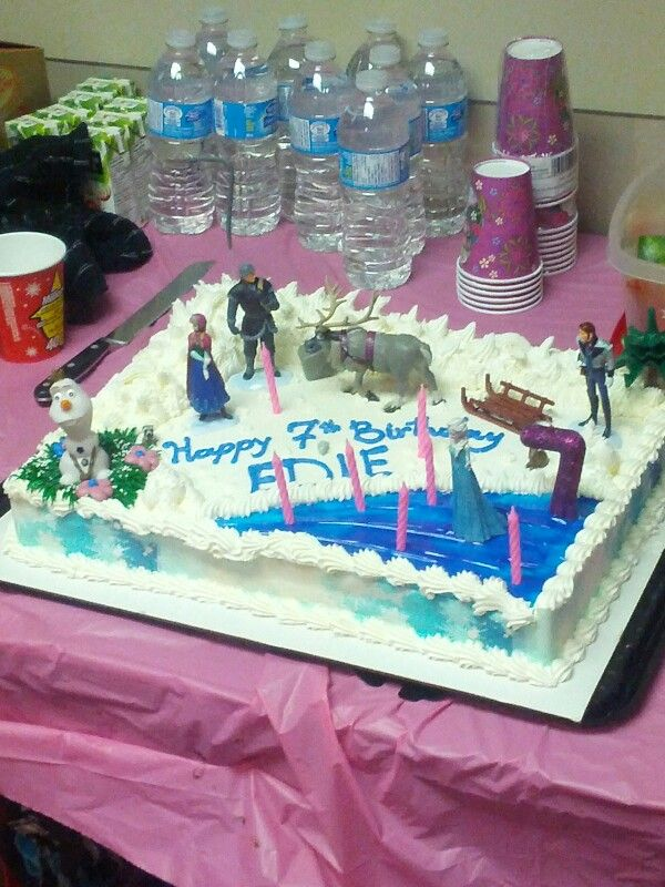 Denise S Bakery Cake Design Akademie : Frozen birthday cake Birthday Ideas Pinterest