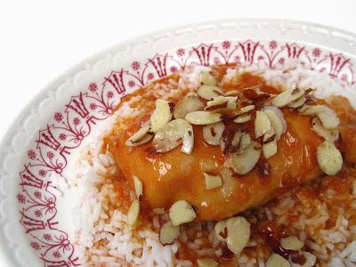 Almond and Apricot Baked Chicken | Food - Chicken | Pinterest