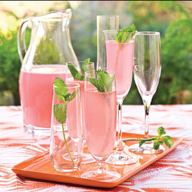 Sparkling pink punch 1 (12-oz.) can frozen pink lemonade concentrate ...