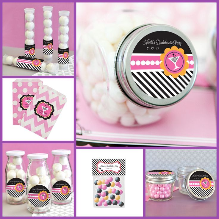 Bachelorette Party Favor Container from HotRef.com