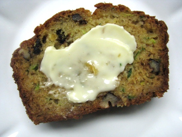 ... to make a new zucchini bread recipe and this one has pineapple in it