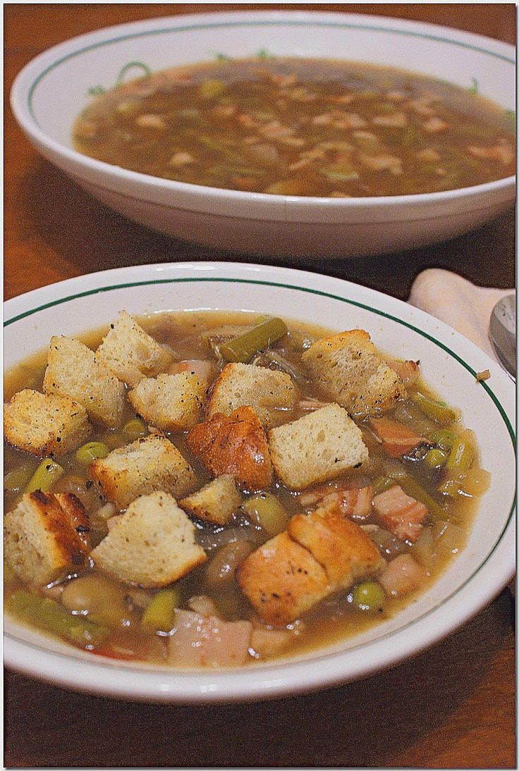 ... Hungry Lovers: Tuscan Spring Vegetable Soup (Garmugia) with Pancetta