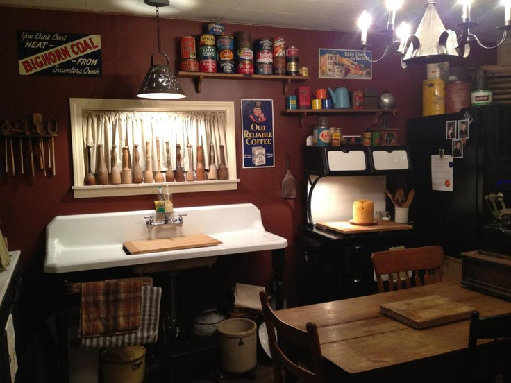 My kitchen | Primitive Home | Pinterest