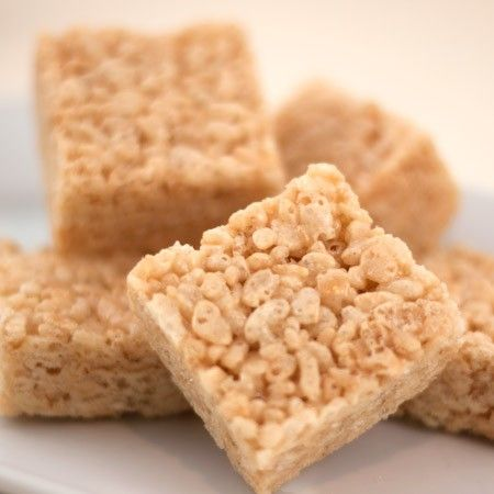 Handcrafted, caramelized brown butter rice crispy squares   on sale ...