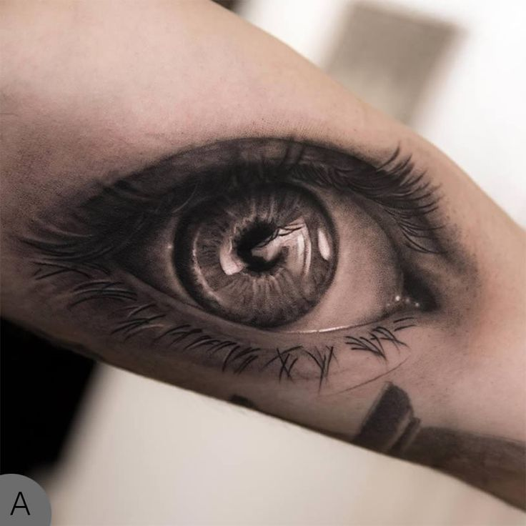 Illusion tattoos art pinterest for Tattoos in the eye