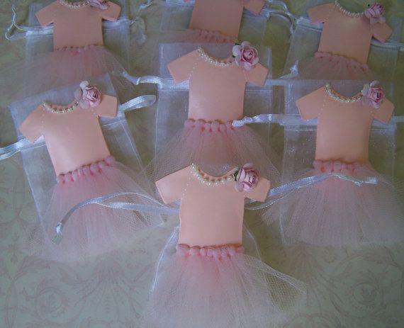 onesie ballerina tutu favor bags