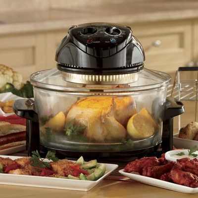 Ginnys Brand Halogen Convection Oven bakes, broils, roasts, toasts ...