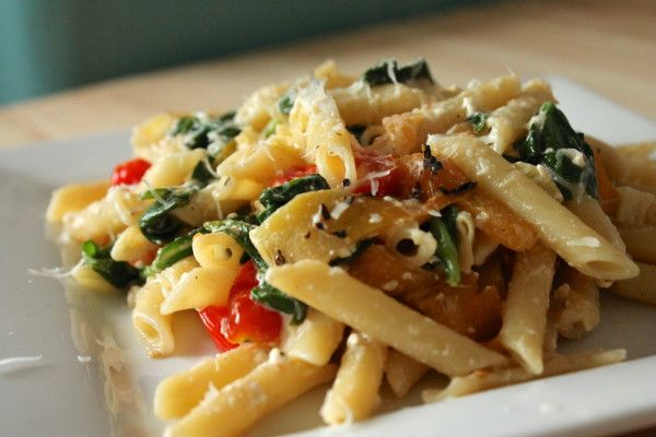 Spaghetti With Artichoke Hearts And Tomatoes Recipes ...