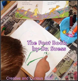 Creative and Curious Kids!: The Foot Book and Activity