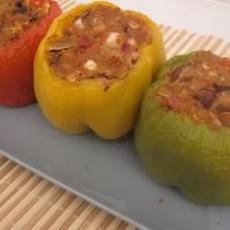 Turkey Stuffed Green Bell Peppers 330 calories   FOOD & ALCOHOL ...
