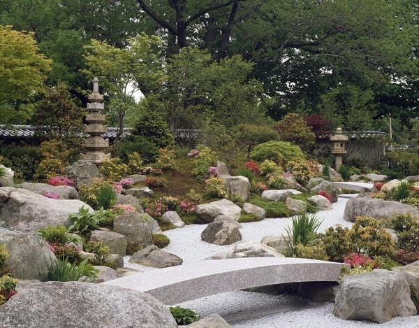 Japanese Rock Garden Arid Garden Ideas Pinterest