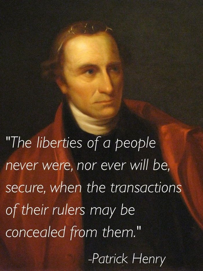 usa patriot act quotes