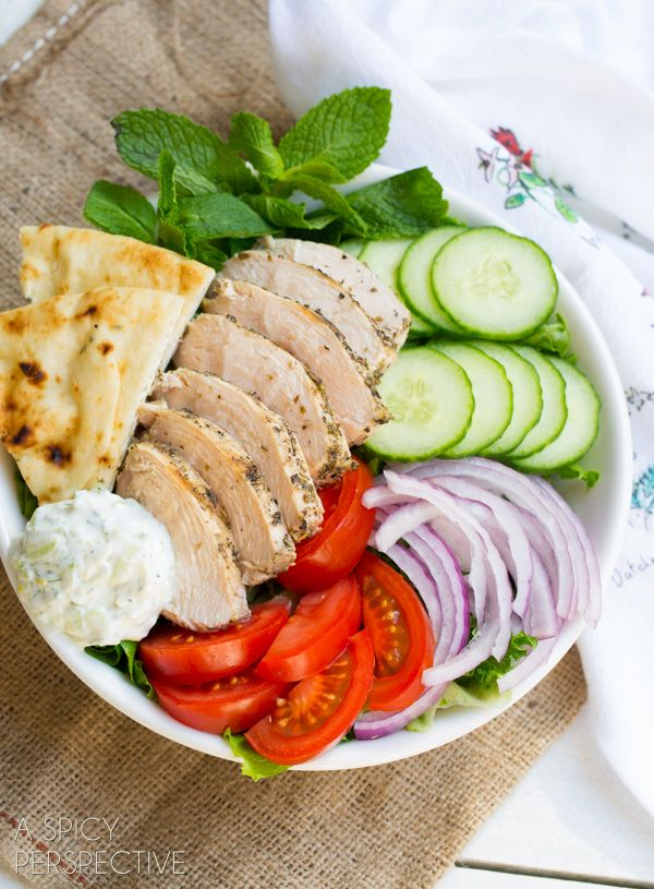 Chicken Gyro Recipe - Tzatziki Sauce