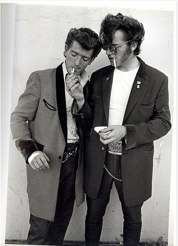 The teddy boy come back 1950 pinterest