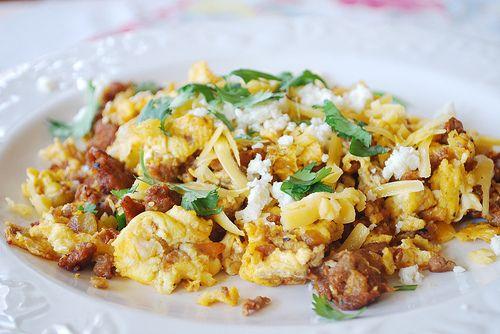 Chorizo Egg Scramble - your homebased mom