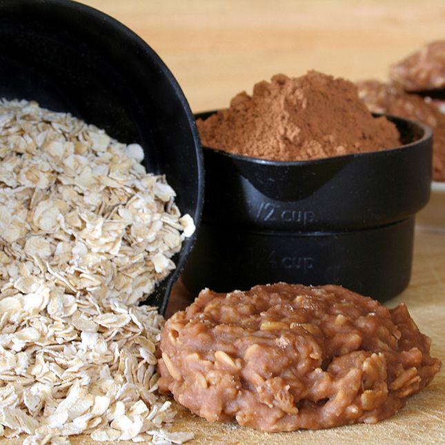 Skinny No-Bake Cookies Recipe — Dishmaps