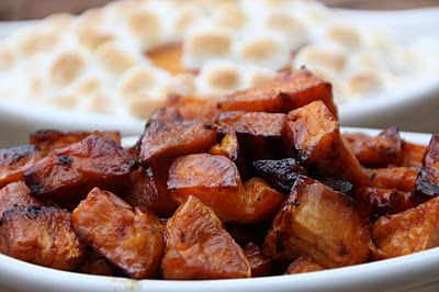 Roasted Maple Sweet Potatoes: | Potato Recipes | Pinterest