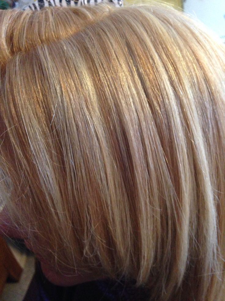 Pictures Of Hair Foils Foils On Dark Hair Dark Brown