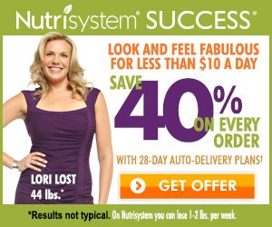 Nutrisystem Weight Loss Program – 1 FREE Week Trail 40 percent off ...